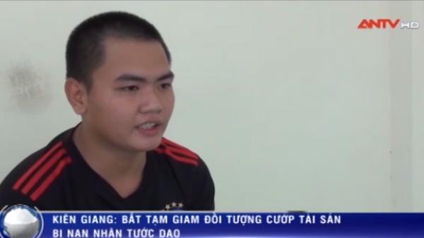Kiên Giang: Bắt tạm giam đối tượng cướp tài sản bị nạn nhân tước dao
