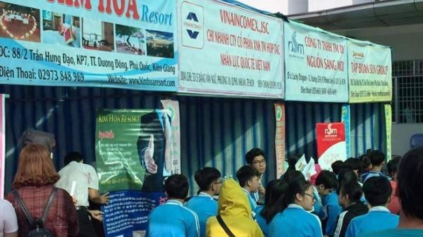 Ngày hội việc làm Kiên Giang 2018 thu hút 1.500 người