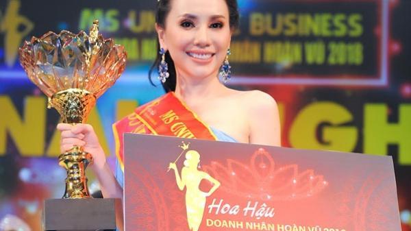Người đẹp Kiên Giang Châu Ngọc Bích đăng quang Hoa hậu Doanh nhân Hoàn vũ 2018