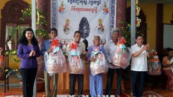 Đồng bào Khmer Kiên Giang phấn khởi đón Tết cổ truyền Chôl Chnăm Thmây