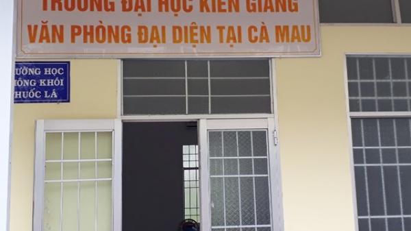 """Trường Đại học Kiên Giang liên kết đào tạo """"chui"""""""