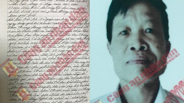 Hé lộ nội dung thư tuyệt mệnh của hung thủ bắn chết 2 vợ chồng rồi tự sát