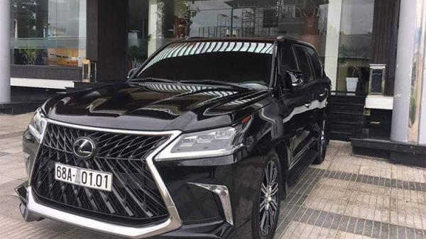 Đại gia Kiên Giang tậu Lexus LX570 Super Sport hơn 10 tỷ
