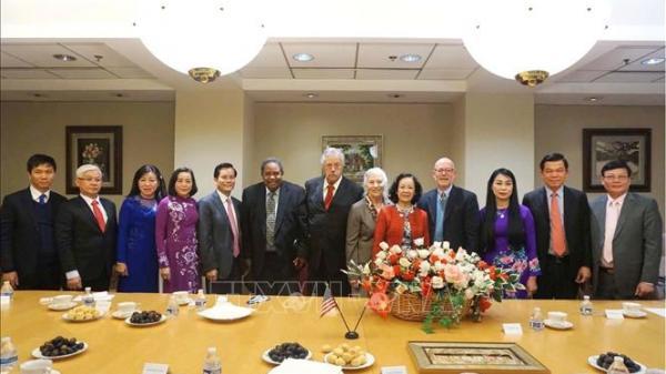 Đoàn đại biểu Đảng Cộng sản Việt Nam thăm và làm việc tại Hoa Kỳ
