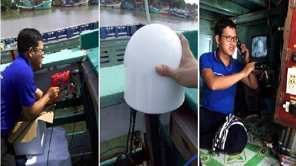 Triển khai VNPT-VSS cho hàng loạt tàu thuyền tại Kiên Giang
