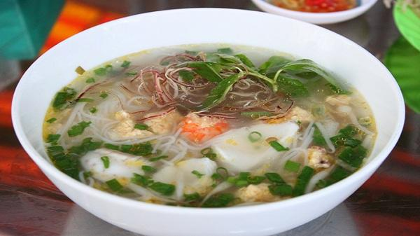 Thanh ngọt bún cá Kiên Giang