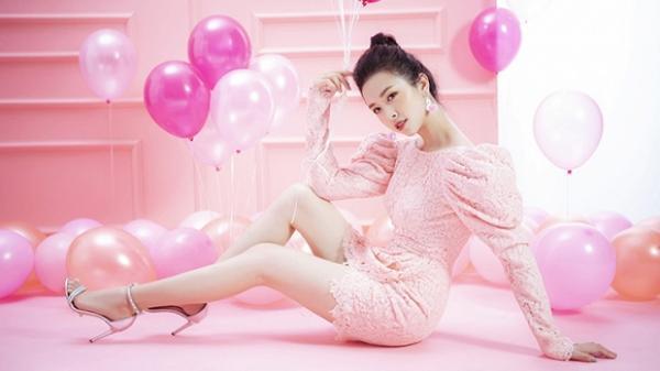 Á hậu quê Kiên Giang khoe bộ ảnh cực ngọt ngào đón sinh nhật lần thứ 22