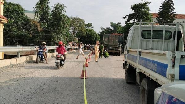 Phú Thọ: Người phụ nữ t ử vong thương tâm dưới bánh xe tải