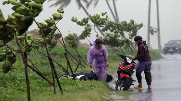 Bão số 2 đang gây gió mạnh cấp 8, sóng cao 1m và bắt đầu có mưa trên biển Bạch Long Vĩ
