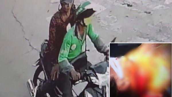 TP.HCM: Người đàn ông mặc áo GrabBike nghi bị c ướp cứa cổ, lấy xe máy