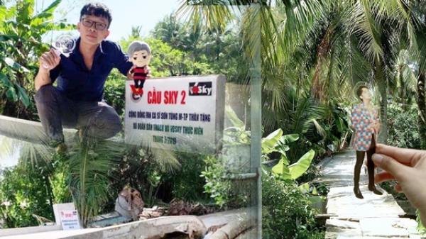 Đáng yêu như fan Sơn Tùng: Lẳng lặng góp tiền xây cầu cho người dân Kiên Giang