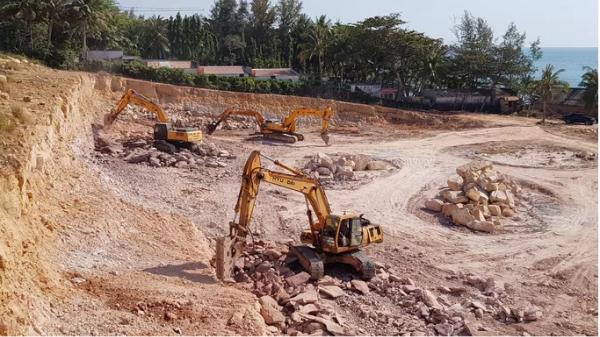 """Kiên Giang: Đục đá nhiều ngày ở Phú Quốc khiến người dân """"đinh tai nh.ức ó.c"""""""