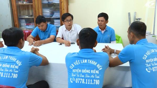 Kiên Giang: Dịch vụ 'Đưa đón an toàn' của thanh niên Giồng Riềng