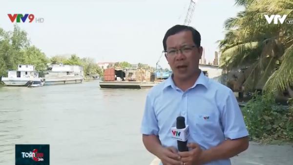 Kiên Giang đắp hàng trăm đập tạm ngăn nước mặn tràn vào nội đồng