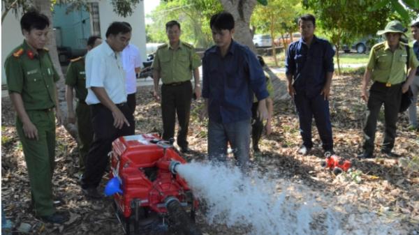 Kiên Giang: Bơm gần 1,5 triệu m3 nước bảo vệ rừng U Minh Thượng