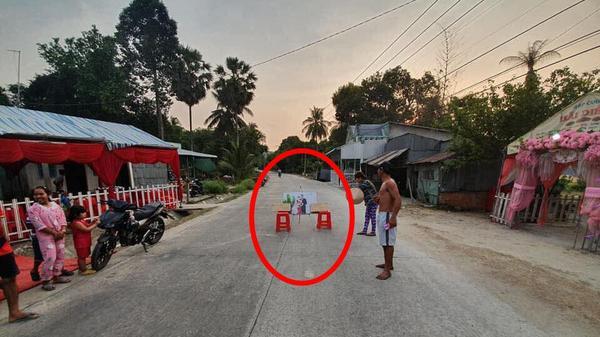 """Đám cưới Kiên Giang được dân mạng chia sẻ ảnh nhiệt tình nhưng nhìn đâu cũng thấy """"điều sai trái"""" vì chi tiết ảnh cưới của cô dâu, chú rể"""