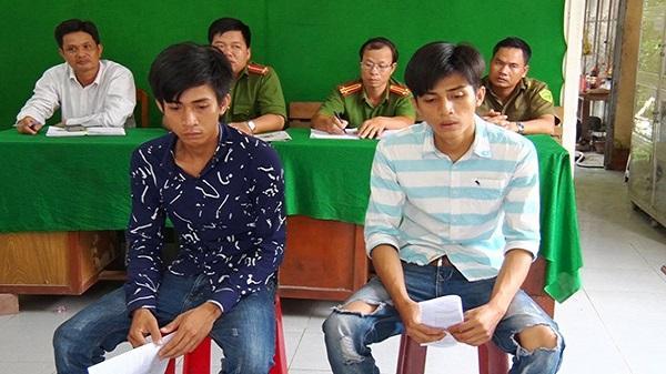 Kiên Giang : Kiểm điểm 2 đối tượng có hành vi chống người thi hành công vụ