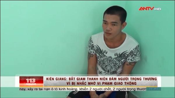 Hà Tiên (Kiên Giang) : Đâm người trọng thương vì bị nhắc nhở đi xe lạng lách