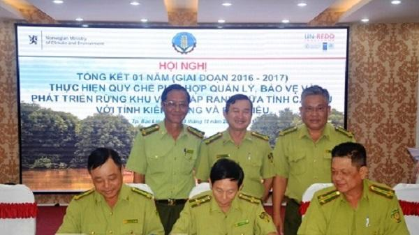 Kiểm lâm 3 tỉnh Cà Mau, Bạc Liêu, Kiên Giang phối hợp quản lý, bảo vệ và phát triển rừng