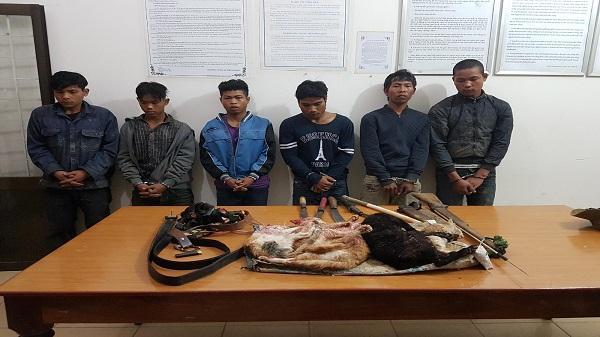 Kon Tum: Bị Công an phường phát hiện khi đi săn 'tiểu hổ'
