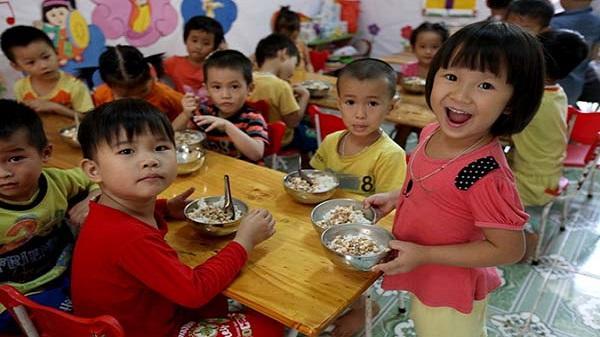Từ tháng 2: Trẻ em mẫu giáo sẽ được hỗ trợ ăn trưa