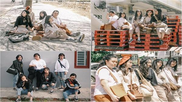 Bộ ảnh 'thanh xuân rực rỡ' của nhóm bạn gái thân 4 năm ở Kon Tum khiến dân mạng xuýt xoa