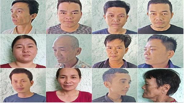 Kon Tum:  Khởi tố vụ án, khởi tố bị can 15 đối tượng về hành vi đánh bạc