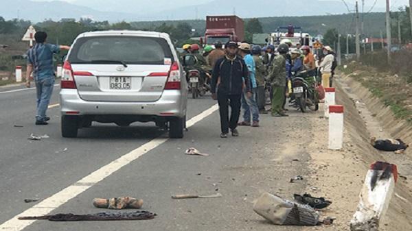 Thành phố Kon Tum: Ô tô và xe máy tông nhau kinh hoàng, 1 người tử vong