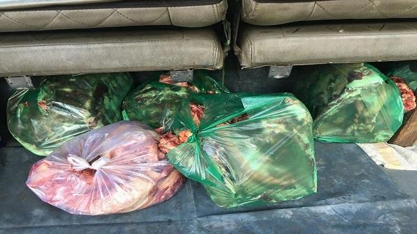Kon Tum: Phát hiện 35kg xương bò không rõ nguồn gốc, xuất xứ