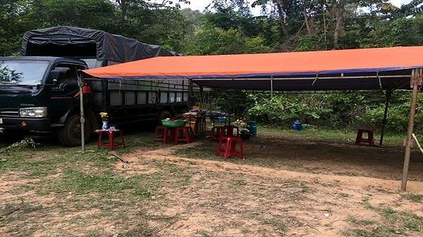 Ổ xóc đĩa 30 người trong rừng giáp ranh ở Kon Tum và Gia Lai