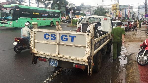 Tạm giữ tài xế Nhà xe tuyến Kon Tum - Đồng Nai gây tai nạn c.h.ế.t n.g.ư.ờ.i rồi bỏ chạy
