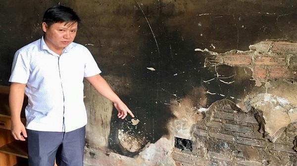 Đắk Nông: Trước ngày kiểm toán, phòng làm việc của phó phòng bốc cháy