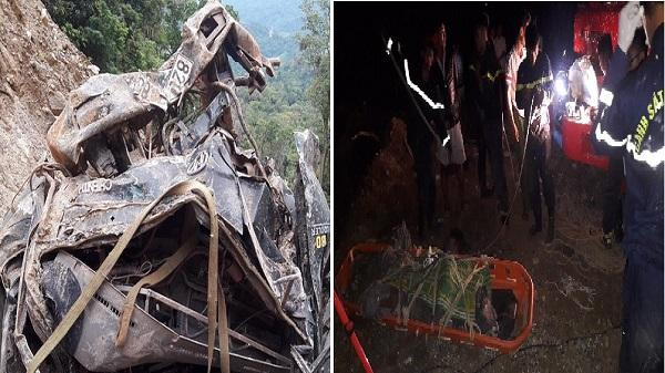 Kon Tum: Tai nạn kinh hoàng khiến 2 người tử vong trên đường Trường Sơn Đông