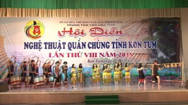 Thông báo xem Hội diễn nghệ thuật quần chúng tỉnh Kon Tum lần thứ VIII/2018
