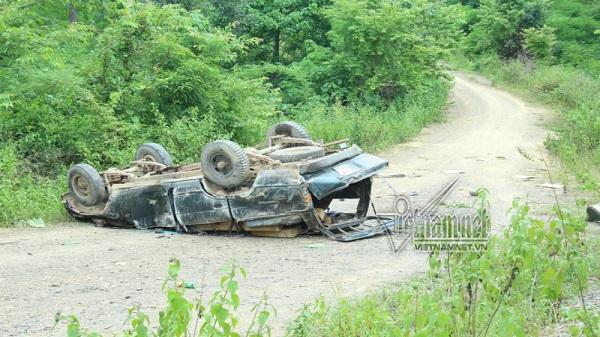 Đắk Nông: Lật xe gỗ lậu 2 người chết, đình chỉ cả trạm quản lý bảo vệ rừng