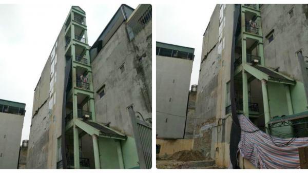 """Xôn xao hình ảnh căn nhà 7 tầng """"mỏng như lưỡi d.ao"""" với chiều ngang chỉ 1,5 mét"""