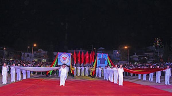 Đại hội Thể dục Thể thao lần thứ VI và Ngày hội Văn hóa các dân tộc huyện Sìn Hồ năm 2017