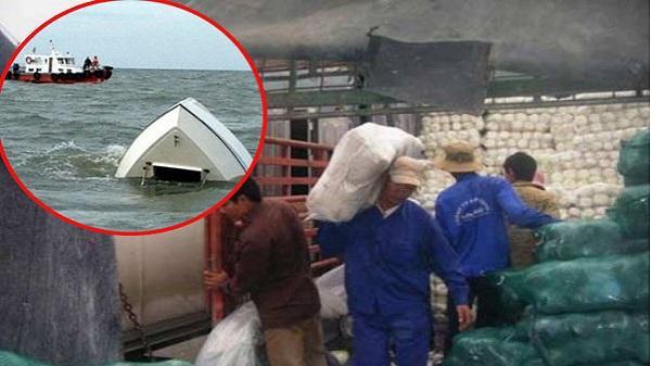 Chìm thuyền giữa sông khiến 5 cửu vạn tử vong và 4 người mất tích