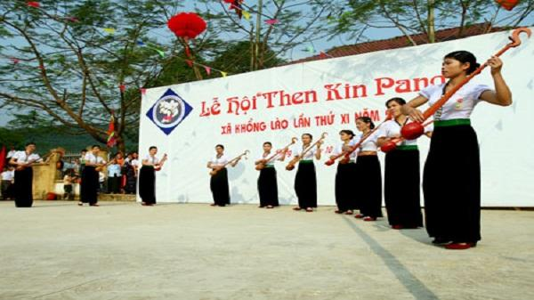 Lễ hội Then Kin Pang độc đáo của người Thái trắng