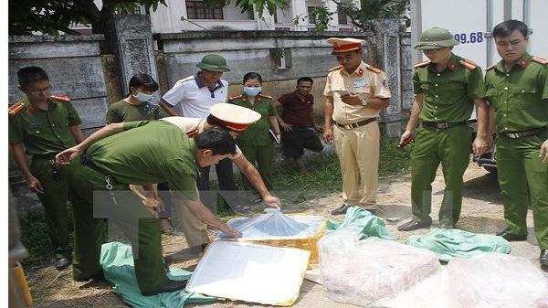 Tiêu hủy gần 200kg nội tạng động vật thối tại Lai Châu