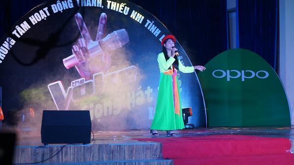 Chung kết cuộc thi giọng hát trẻ Lai Châu lần II