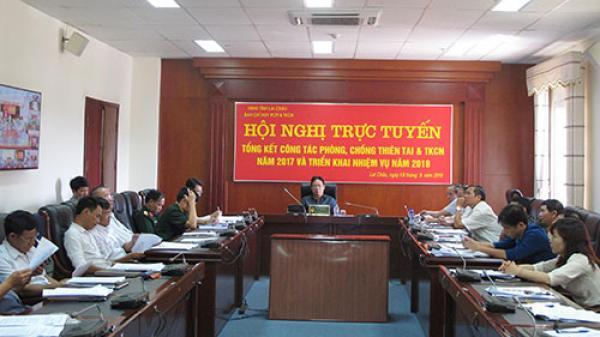 Lai Châu lên kế hoạch triển khai nhiệm vụ phòng chống thiên tai và tìm kiếm cứu nạn năm 2018