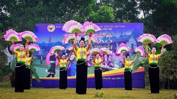 Lan tỏa bản sắc ngày hội văn hóa các dân tộc.