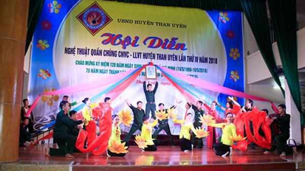 Hội diễn nghệ thuật quần chúng công nhân viên chức - lực lượng vũ trang huyện Than Uyên lần thứ IV
