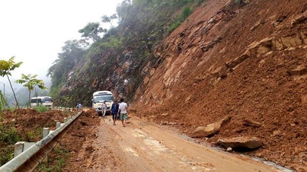 Lai Châu nằm trong 17 tỉnh khu vực miền núi phía Bắc có nguy cơ trượt lở đất đá rất cao