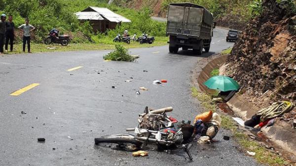 Tai nạn giao thông ở Lai Châu, hai vợ chồng tử vong tại chỗ
