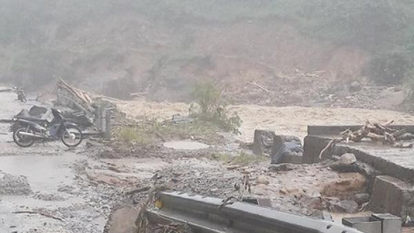Cảnh báo lũ trên các sông, sạt lở và lũ quét khu vực vùng núi phía Bắc