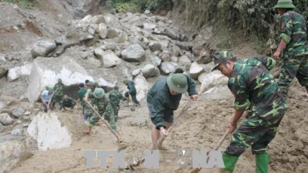 Lai Châu chủ động ứng phó mưa lũ và sạt lở đất