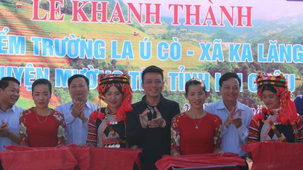 Lai Châu: Khánh thành điểm trường ở xã vùng biên Ka Lăng
