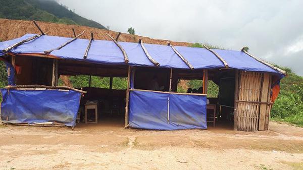 R.ớt nước mắt với lớp học ngoài trời rét th.ấu xương ở Lai Châu